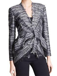 Collection Tweed Jacket - Donna Karan @ GetThis.tv