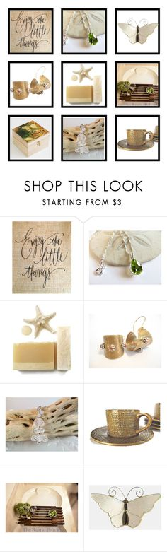 """""""Enjoy the Little Things"""" by inspiredbyten ❤ liked on Polyvore featuring Farfalla and vintage"""
