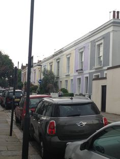 Pretty colours. Leverton St in Kentish Town
