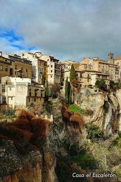 Hoz del Huécar (Cuenca) #Cuenca #España #viajes #Turismo #travel #viajar Cuenca Spain, Holiday Places, Travel Around, Valencia, Tuscany, Places Ive Been, Places To Visit, City, Archaeology