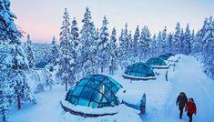 Kakslauttanen Arctic Resort in Sodankyla Lappland, Unique Hotels, Best Hotels, Igloo Village, Ice Hotel, South Tyrol, Chula, Romantic Getaways, South Of France