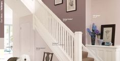 Dulux Mellow Mocha - I've been renting a beautiful Annex in the countryside and the living room colour is luxurious, I thought it had to be Farrow & Ball or Little Greene... oo noooo... this is Mocha by Dulux - it's simply gorgeous and perfect for hallway decoration.