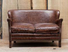 Divano a due posti in pelle - Leather sofa http://www.griffegenova.com/Griffe_Home/Divani_pint_new.html