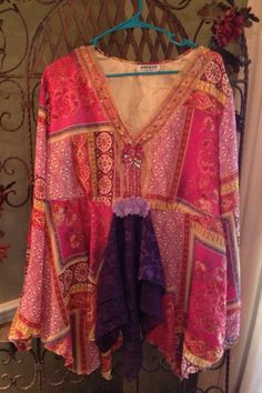 Plus Size Gypsy Fortune Telling Blouse Gypsies Fortune Teller Top Hippie Chic Hippy Top on Etsy, $22.00