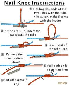How to Tie a Nail Knot More