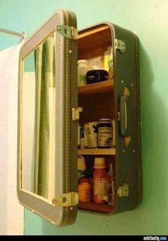 Alter Koffer geniale Idee