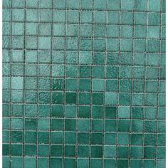 Mosaïque émaux de briare BUIS, vert foncé par plaque de 34.58 cm- Achat d'émaux de briare