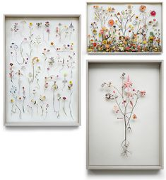 Loving Flowers in Glass