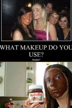 wrongly makeup for nutella http://ift.tt/2vFNIW5