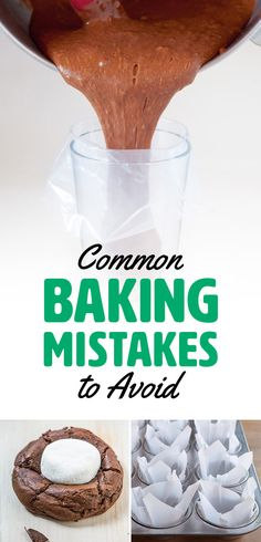 21 Baking Mistakes You're Probably Making -- pin now, read later!