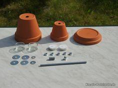 Bauanleitung Teelichtofen - Schritt 1/15 - Materialen clever besorgen
