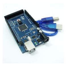 The lasest version of Arduino Mega (High Quality Clone). There is a usb cable inside the package for seperator computer connection. Arduino Sensors, Arduino Board, Raspberry, Usb, Packaging, Raspberries, Wrapping