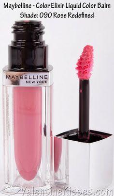 Maybelline Color Elixir Liquid Color Balm: Rose Redefined