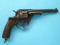 *Italian Glisenti Early Model Double Action Ordnance Revolver 10.35mm