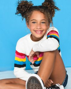 #Stripes #rainbow #curlyhair #curlyhairstyles #naturalhair #naturalhairstyles #converse #castinglooks #beautifulkids #headshotphtography #kidsoutfit #fashionkidsinspo #fashion #kidfashion #kidoutfitideas #ootd #kidootd