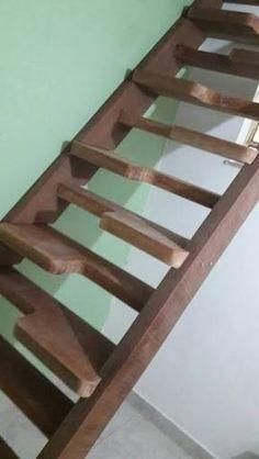 Resultado de imagem para projeto escada de madeira