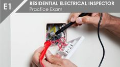 Residential Stair Codes EXPLAINED - Building Code for Stairs Residential Electrical, Residential Plumbing, Building Code For Stairs, Garage Door Replacement, Add A Bathroom, House Wiring, Practice Exam, Cool Mirrors, Home