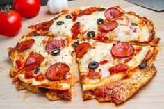 Pizza Quesadillas. The basic idea is that you make a pizza quesadilla, stuffed with your favourite pizza ingredients including pizza sauce, mozzarella cheese, pepperoni and black olives, and then you top the quesadilla with more of the pizza toppings and quickly bake it to melt the cheese on top!