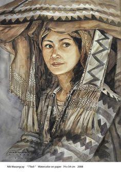 T'boli Filipino Art, Filipino Culture, Wake Island, Filipino Fashion, Philippine Art, Pitcairn Islands, Simple Acrylic Paintings, People Of The World, Artists Like
