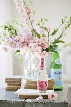 Using Bottles For Flowers...The Power Of Multiples In Display