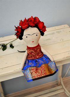 Frida / autorská hračka / Zboží prodejce Břichopas toys | Fler.cz