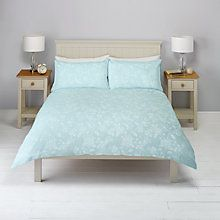 Buy John Lewis Melissa Floral Jacquard Duvet Cover and Pillowcase Set Online at…