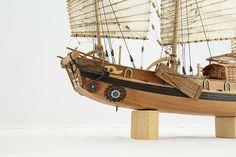 Photos ship model Chinese river junk of 19th century, details Junk Ship, Model Ships, Sailing Ships, 19th Century, Chinese, River, Photos, Boats, Creativity