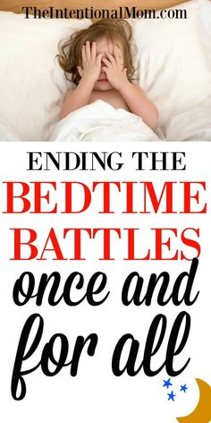 Bedtime can be such a welcome time. Peace, quiet, and kid-free time. It can also be a dreaded time full of struggles. Here's how to end the bedtime battles. Kids Sleep, Baby Sleep, Child Sleep, Baby Baby, Gentle Parenting, Parenting Advice, Mom Advice, Sleeping Through The Night, Parenting Toddlers