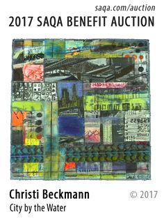Art quilt by Christi Beckmann