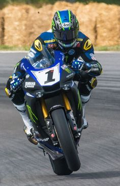 Photo from VIRginia International Raceway's post.---#1 Yamaha YZF-R1 - Superbike Class ridden by Josh Hayes from Gulfport, MS.
