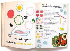 La cuisine est un jeu d'enfants by Michel Oliver (1963) (via Hi + Low)