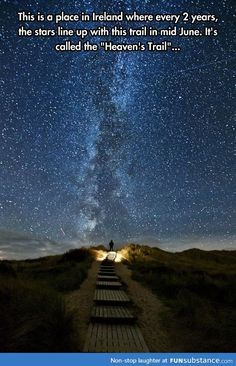 Heaven's trail