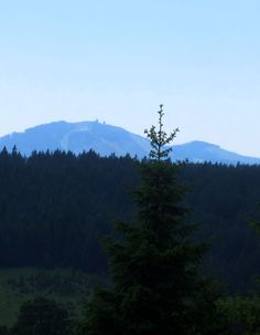 #Arber view at: Trail Running in #Sumava NP in #Czech Republic. More: http://trampelpfad.net/