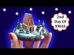 Mini Gingerbread Church Scene, Polymer Clay Tutorial || Maive Ferrando - YouTube