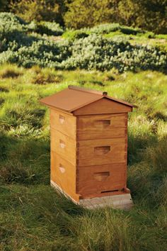 Raising bees increases pollination for your garden and fruit trees. The Beehive was designed exclusively for Williams-Sonoma and has an eight-frame design that is ideal for beginners; $339.95.