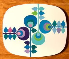 Worcester Ware table mats (late 1960s)
