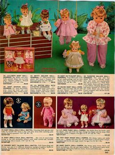 1969 AD Horsman Dolls Thirstee Walker LI'L Miss Fussy Baby Party Drowsy Baby | eBay