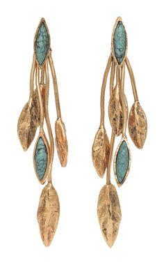 Aurelie Bidermann Malibu Blue Earrings