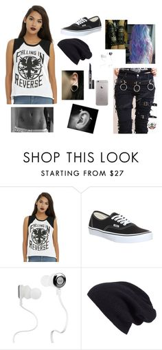 """""""Untitled #57"""" by autumn-geist on Polyvore featuring Vans, Monster, Halogen, Benefit and plus size clothing"""