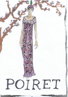 Poiret by Beatrice Brandini www.beatricebrandini.it