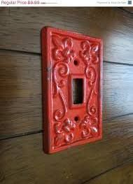 light switch covers red pattern - Google Search