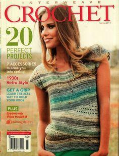 Interweave Crochet Spring 2014 - Jimali McKinnon - Álbuns da web do Picasa HALENKY S NÁVODY HALENKY