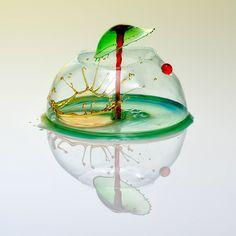 感動。ミクロの「水」が美しいガラス細工すぎる:DDN JAPAN