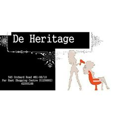 DE HERITAGE - Grant your locks the new life it deserve!   Call 6235 5188 or visit De Heritage at 545 Orchard Road #B1-06/10 Far East Shopping Centre S(238882).