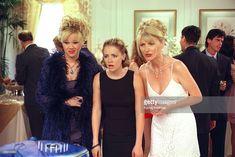 WITCH - 'It's a Mad... Mad Season Opener' - Season Three - 9/25/98, Aunt Hilda (Caroline Rhea) is envious when Aunt Zelda (Beth Broderick) invites Mr. Kraft to be her date at the school dance. Melissa Joan Hart (Sabrina) also stars.,
