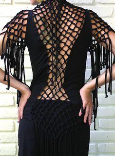 SPRING SALE _ Goddess Macrame short sleeve by kayoanimeclothing