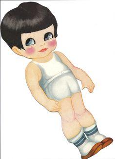 Bonecas de Papel: Little Tots (PLUS CLOTHING)