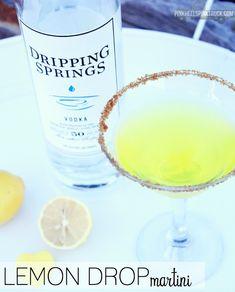 Cocktail: Texas Lemon Drop Martini via http://pinkheelspinktruck.com (@pnkheelspnktrk)