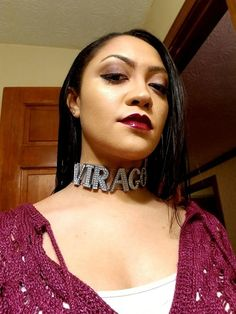 Name choker name plate necklace name necklace pastel goth