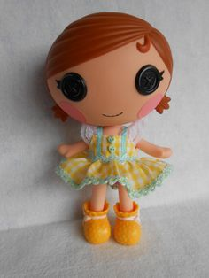 Lalaloopsy Littles  Farm Girl Dress by AndLittleLambsEatIvy, $6.00 **M WANTS! My little country farm girl in training! :D